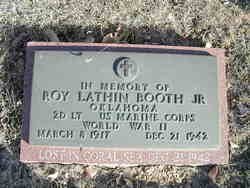 Roy Lathin Booth, Jr
