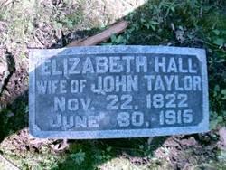 Elizabeth <i>Hall</i> Taylor