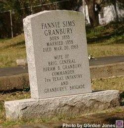 Fannie Sims Granbury