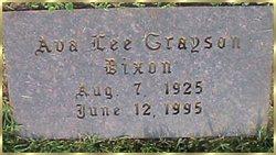Ava Lee <i>Grayson</i> Dixon