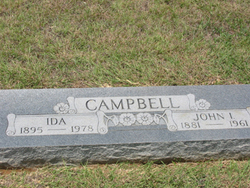 Ida <i>O'Neal</i> Campbell