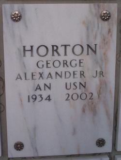 George Alexander Horton, Jr