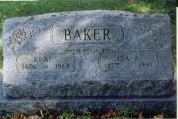 Isa A. <i>Gillette</i> Baker