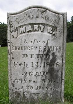 Mary Rebecca <i>Spooner</i> Smith