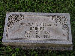Louvenia F <i>Alexander</i> Barger