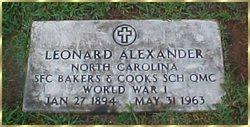 Leonard Lane Alexander