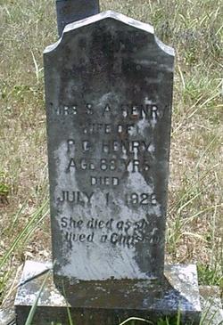 Mrs S. A. Henry
