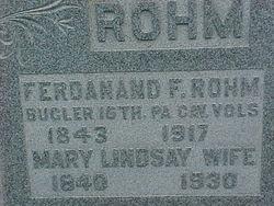 Ferdinand Frederick Rohm