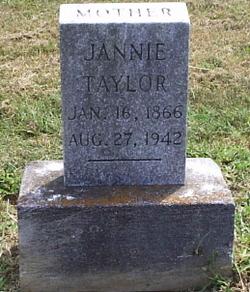 Jennie <i>Holmes</i> Taylor