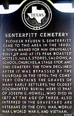 Senterfitt Cemetery
