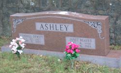 Janet <i>Reeves</i> Ashley