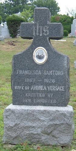Francesca <i>Santoro</i> Versace