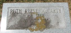 Ruth <i>Reese</i> McCarty