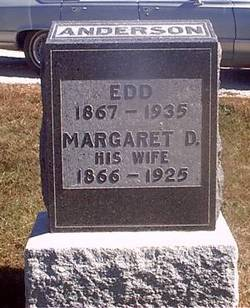 Margaret D <i>King</i> Anderson