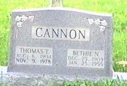 Bethie Neva <i>Gidcumb</i> Cannon