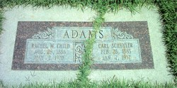 Rachel M. <i>Child</i> Adams