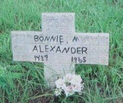 Bonnie M. Alexander
