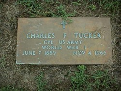 Charles F Tucker