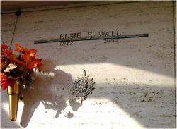 Elsie E Wall