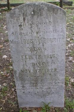 Louisa A Burritt
