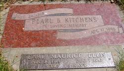 Pearl Bernice <i>Ellis</i> Kitchens