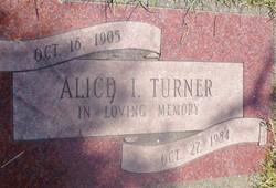 Alice Irene <i>Ellis</i> Turner