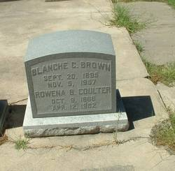 Blanche <i>Coulter</i> Brown
