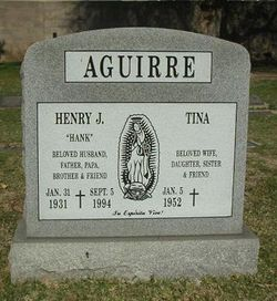 Henry John Hank Aguirre