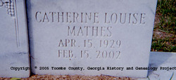 Catherine Louise <i>Mathes</i> Smith