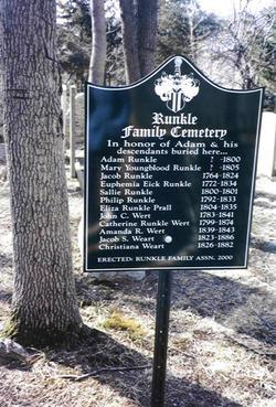 Runkle Weart Burying Ground