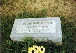 Homer Earl McDaid