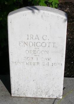 Sgt Ira Clark Endicott