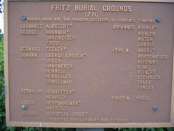 Fritz Burial Grounds