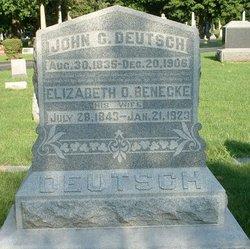 Elizabeth D. <i>Benecke</i> Deutsch