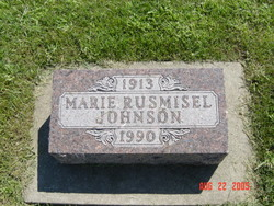 Marie M <i>Rusmisel</i> Johnson