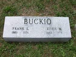 Effie Mary <i>Crawford</i> Buckio