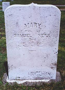 Mary <i>Thomas</i> Kerr