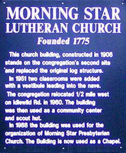 Morning Star Lutheran Cemetery