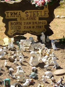 Irma Elaine <i>Miller</i> Steele