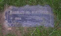 Charles Mc. Whitaker