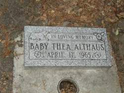 Baby Thea Althaus