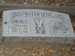 Mary Frances <i>Hall</i> Wharton