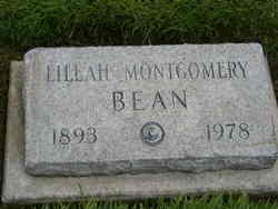 Lillah <i>Montgomery</i> Bean