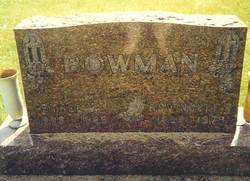 Ethel Viola <i>Eisenhour</i> Bowman