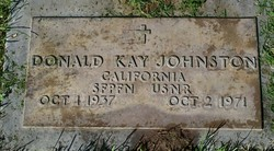Donald Kay Johnston