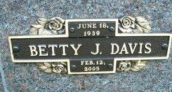 Betty J. <i>Bailey</i> Davis