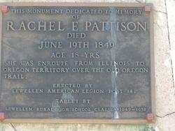 Rachel E. <i>Warren</i> Pattison