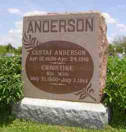 Christine <i>Dahlstrom</i> Anderson
