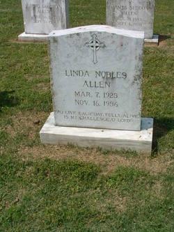 Linda <i>Nobles</i> Allen