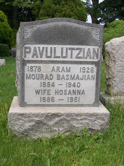 Hosanna <i>Pavulutzian</i> Basmajian